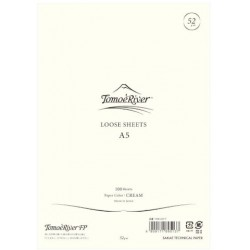 Tomoe River Loose Sheets - A5 Blank Cream