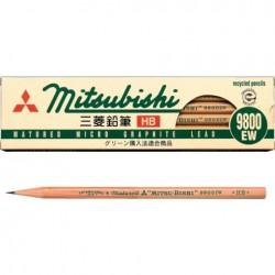 Uni Pencils - 9800Ew Hb Pack Of 12