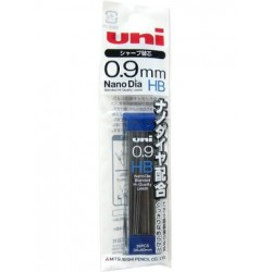 Uni Mechanical Pencil Lead Nano Dia - 0.9mm Hb