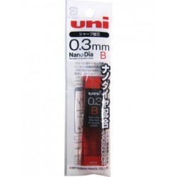 Uni Mechanical Pencil Lead Nano Dia - 0.3mm B