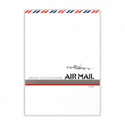Uzumaki Air Mail - Letter Pad Blank 50 Sheets