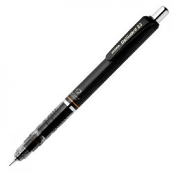 Zebra Delguard Mechanical Pencil 0.5mm - Black