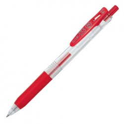 ZEBRA - Sarasa Clip Gel Pen - 0.4 mm - Red