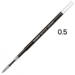 Zebra Blen Emulsion Ink Gel Pen 0.5mm - Refill Black