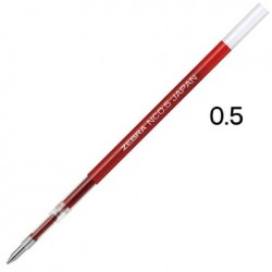 Zebra Blen Emulsion Ink Gel Pen 0.5mm - Refill Red