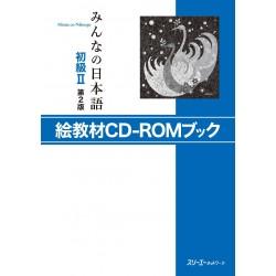 MINNANO NIHONGO SHOKYU 2 2ND EKYOZAI CD-ROM BOOK