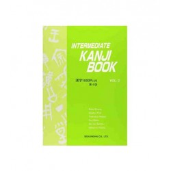 INTERMEDIATE KANJI BOOK VOL.2 ( KANJI 1000 PLUS) 4TH EDTION