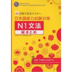 NIHONGO NORYOKU SHIKEN TAISAKU N1 GRAMMAR